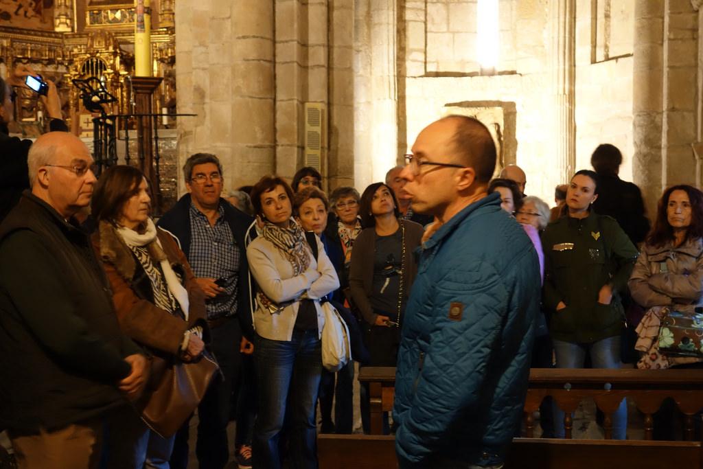 Visita a la iglesia de Santillana del Mar, Claves del Románico 2017