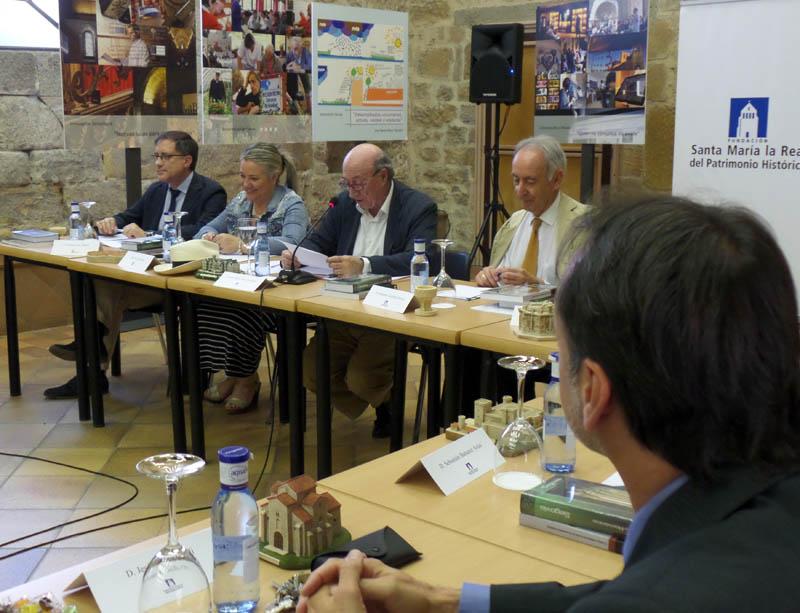 Un momento de la reunión del Patronato de la Fundación_Junio 2015