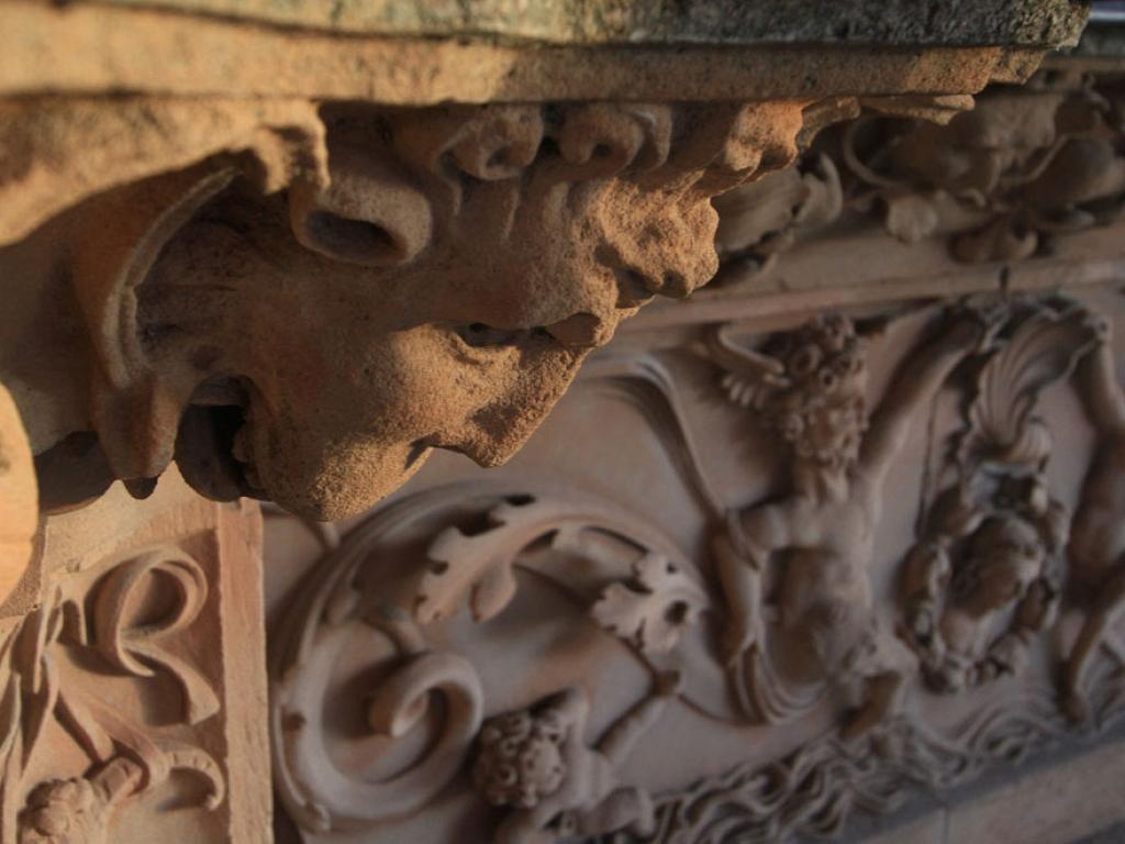 Detalle ornamental de la Fachada Rica, Marce Alonso