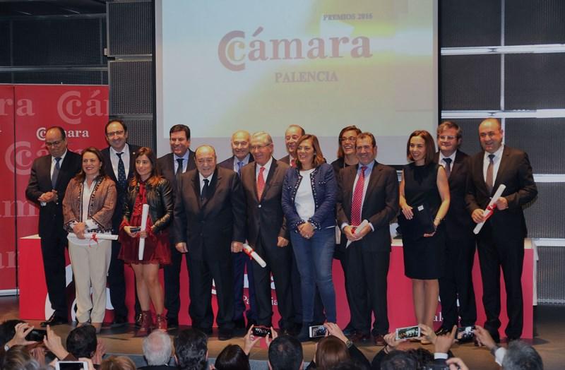 Foto de grupo, Premios Cámara de Comercio. Agencia ICAL, Manuel Brágimo