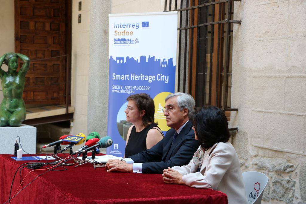 presentación avances SHcity en Ávila