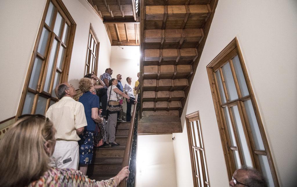 Visita de los Amigos del Patrimonio al Museo Gaudí - Casa Botines