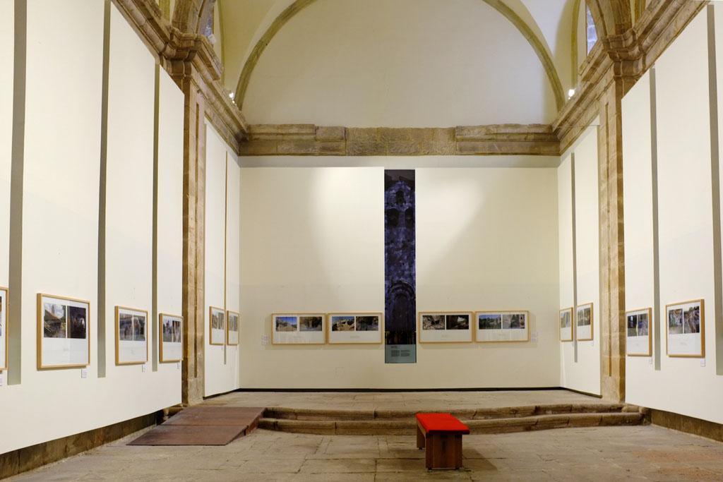 """Vista de la exposición """"Santuarios del silencio"""" de Agustín López Bedoya en el Rom"""