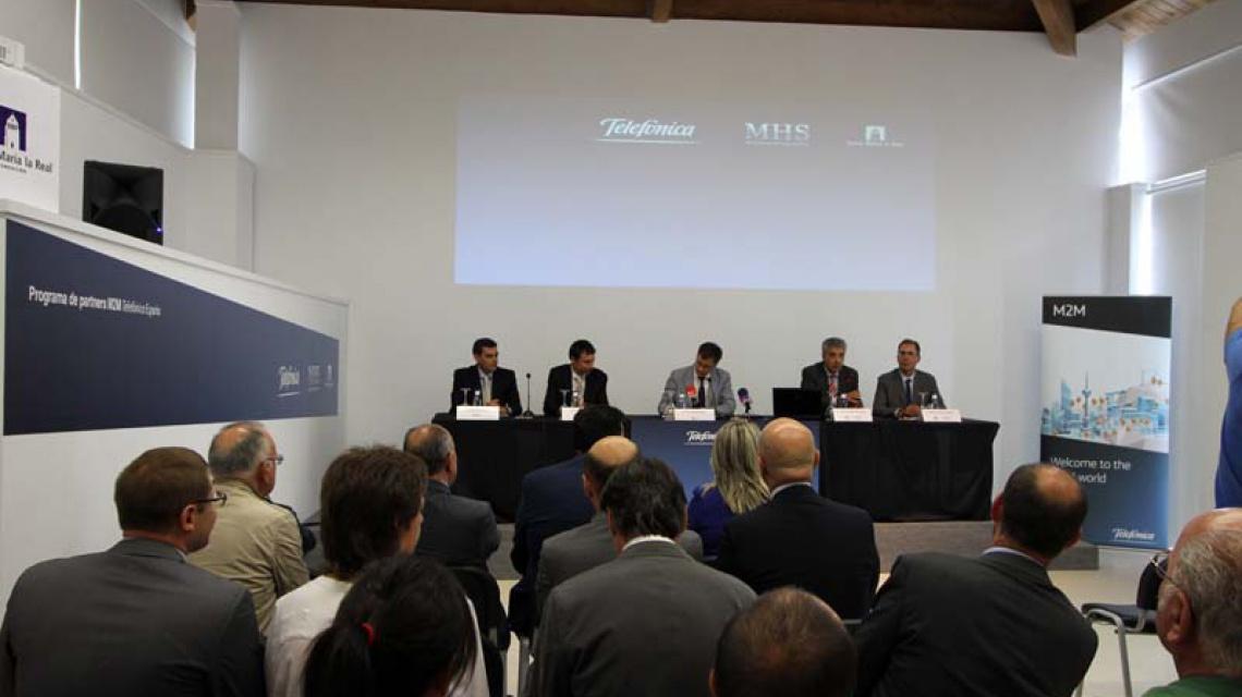 Firma de Acuerdo de Partenariado con Telefónica