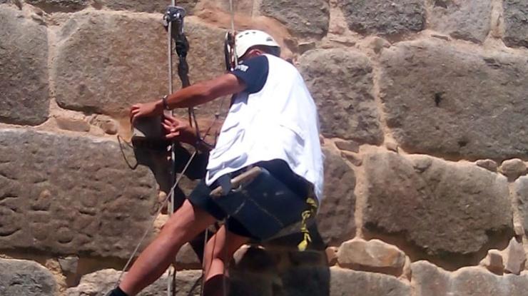 revisión sensores muralla Ávila