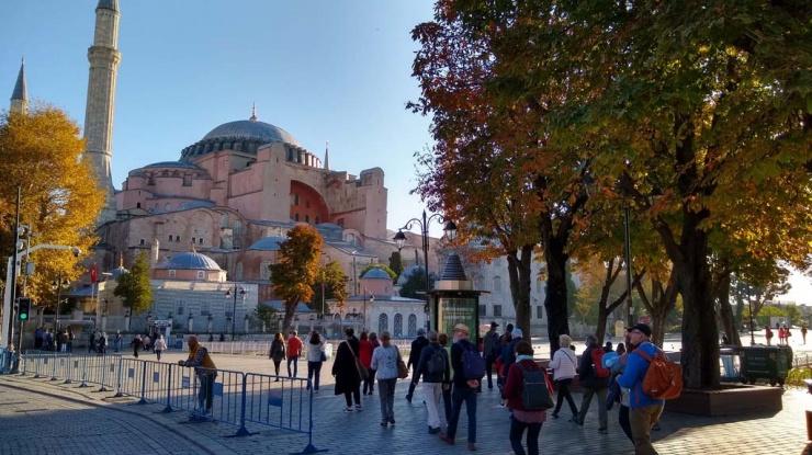 Recorrido por Santa Sofía con Cultur Viajes, Turquía 2019