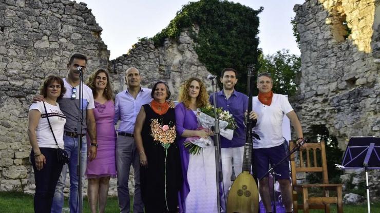 Concierto de Las Piedras Cantan en La Armedilla, Cogeces del Monte (Valladolid). FOTÓGRAFO: José Alberto Sanchez