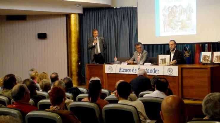 Presentación de Peregrinar en Ateneo Santander