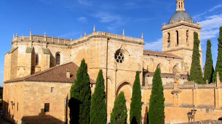 Catedral de Ciudad Rodrigo (Salamanca) exterior
