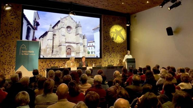 Un momento de la presentación en CaixaForum Madrid