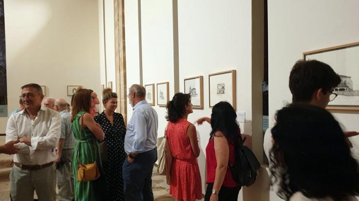 """Inauguración de la exposición """"Esbozos de un viaje interior"""" en el centro expositivo Rom"""