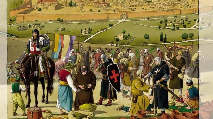 Jerusalén en la Edad Media, Chema Román