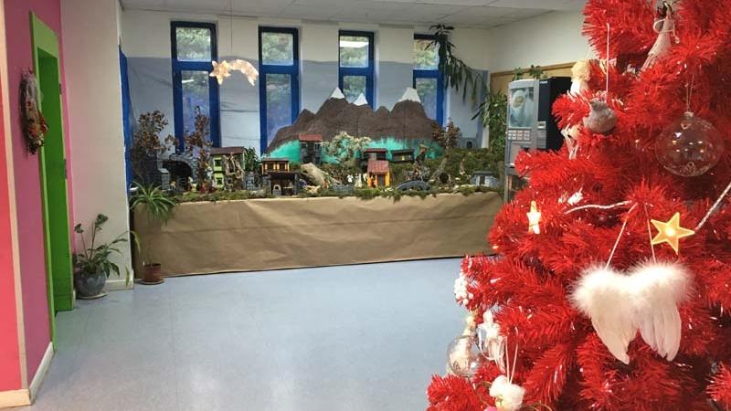 Navidad 2016 en Residencia Tercera Actividad
