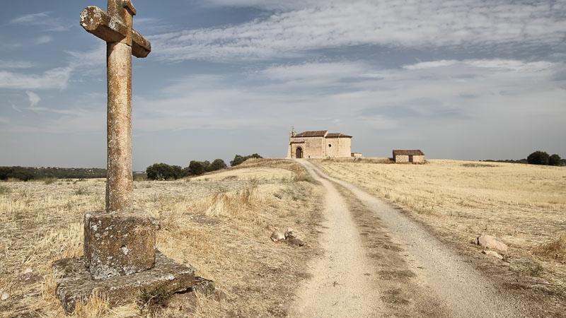 """CAMINO HACIA LA OCTAVA"""" – Peñarrubias de Pirón (Segovia). 3º Premio IV Concurso Románico Digital José Mateo Pariente Gil"""