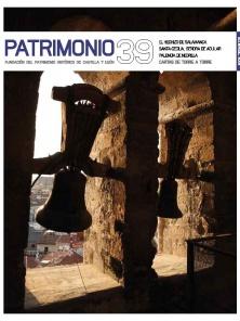Portada Revista Patrimonio 39