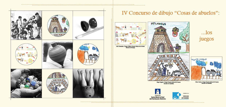 Los Juegos Tema Central Del Concurso De Dibujo Cosas De Abuelos