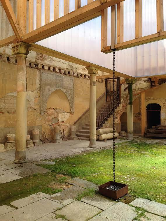 Estudio Castillo Oli, intervención en Palacio Enrique IV, Segovia, Jesús Castillo