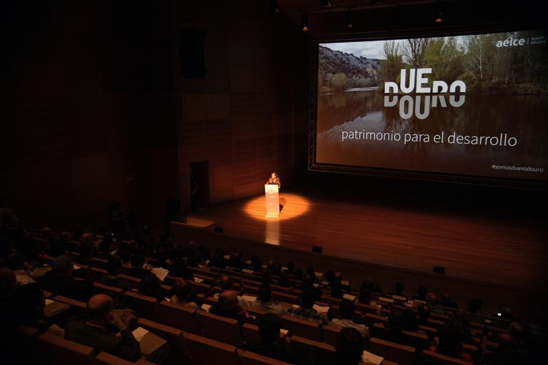 Un momento de la Presentación de Duero Douro
