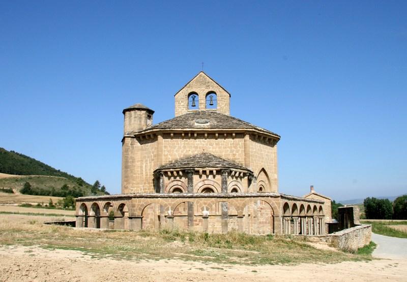 Santa María de Eunate, Pedro Luis Huerta