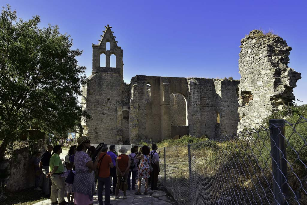 Visita monasterio de Armedilla