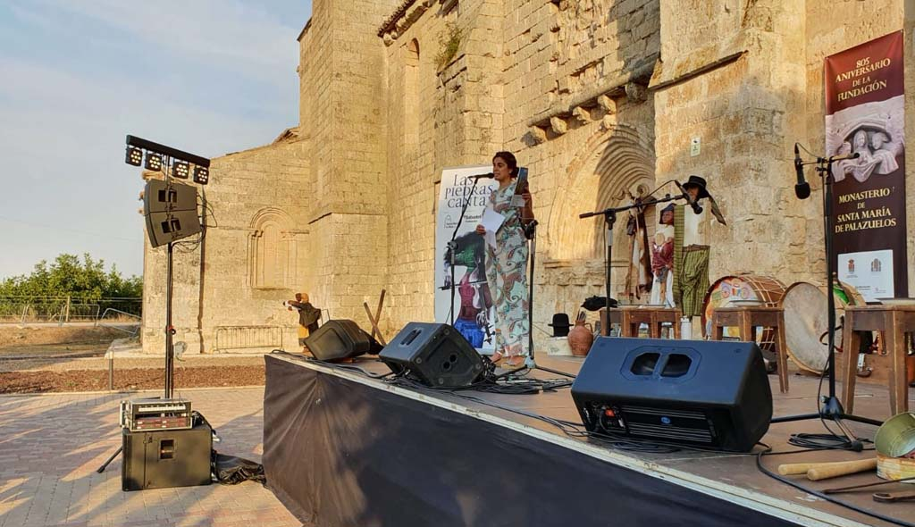 """Presentación del concierto de Mayalde en el monasterio de Santa María de Palazuelos, dentro del ciclo """"Las Piedras Cantan"""""""