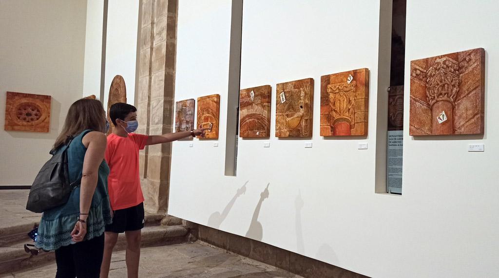 Exposición Per Viam de Ángel Cantero en el Rom 2021