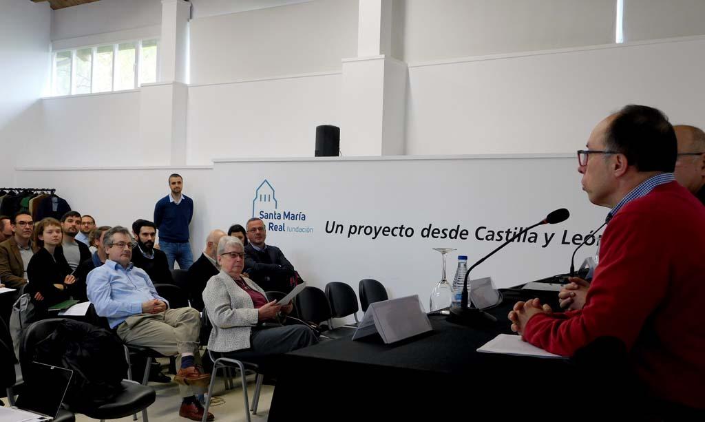 Presentación del IX Coloquio Ars Mediaevalis, Aguilar de Campoo
