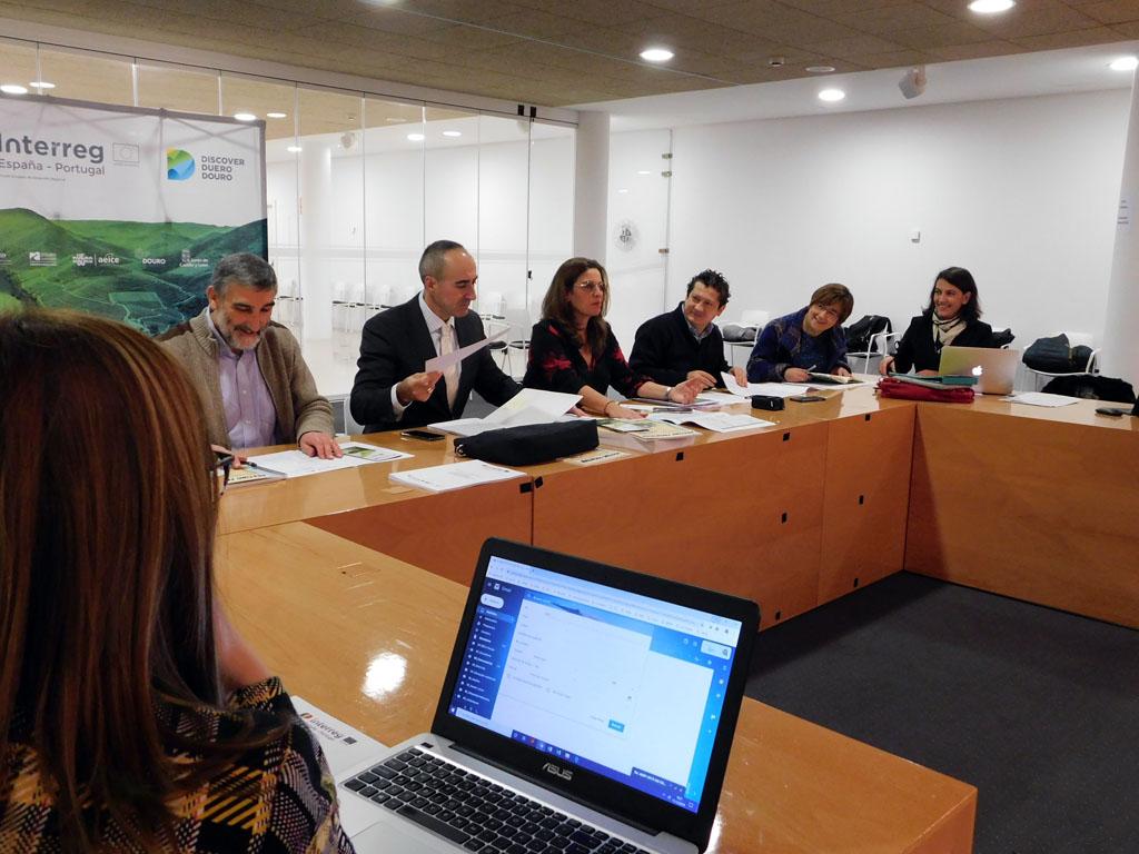 Reunión de trabajo Discover Duero Douro, Zamora