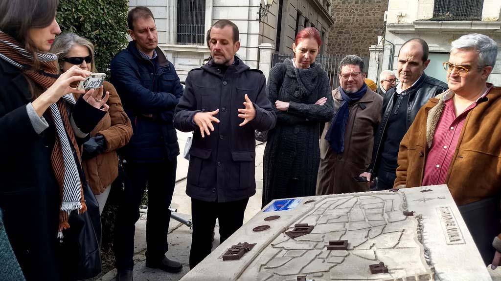 Paneles interactivos del proyecto SHCity instalados en la ciudad de Ávila