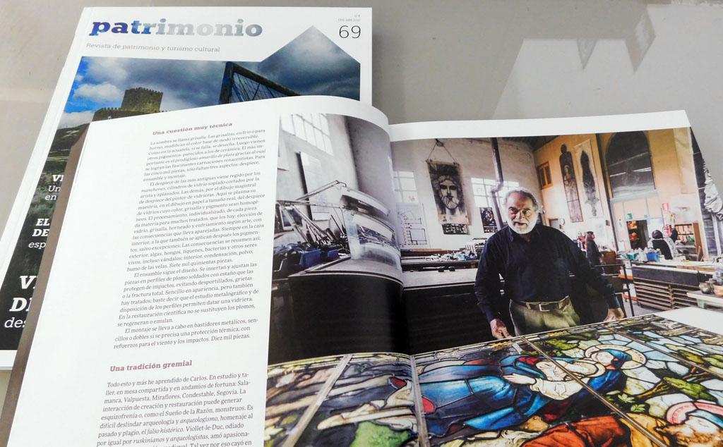 Detalle revista Patrimono 69