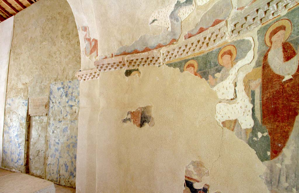 pinturas murales de Perazancas de Ojeda