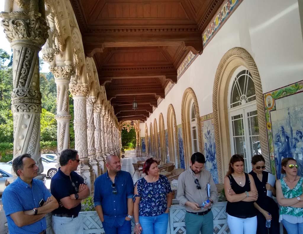 Presentación del proyecto NAPOPTEC en Bussaco, Portugal