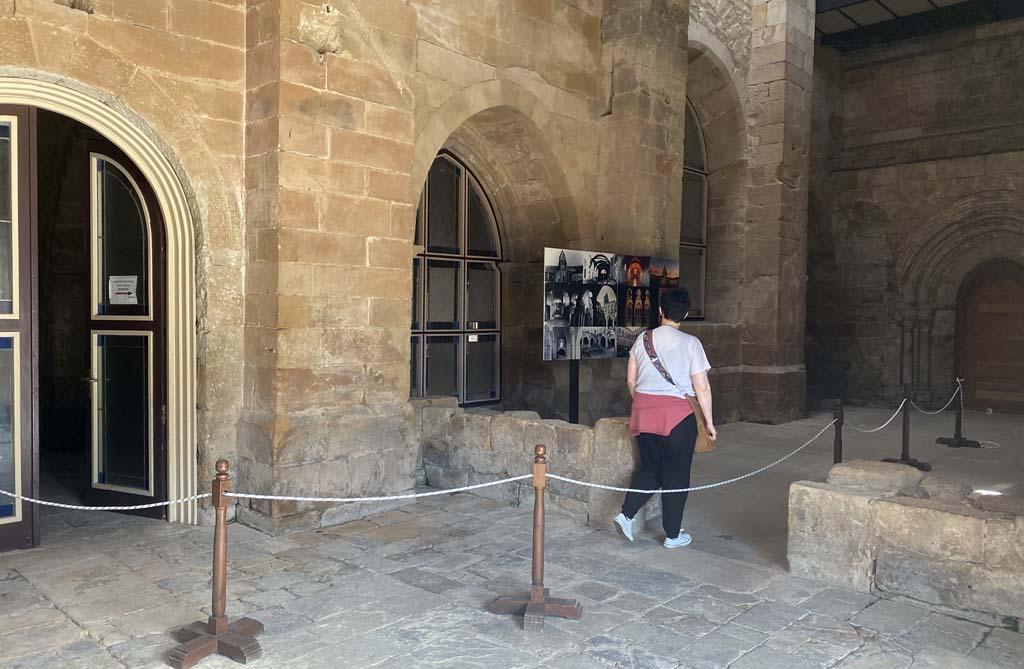 Visita al monasterio de Santa María la Real - centro Rom