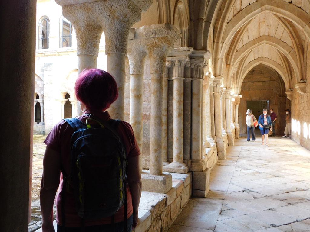 Visita monasterio de Santa María la Real, verano 2020