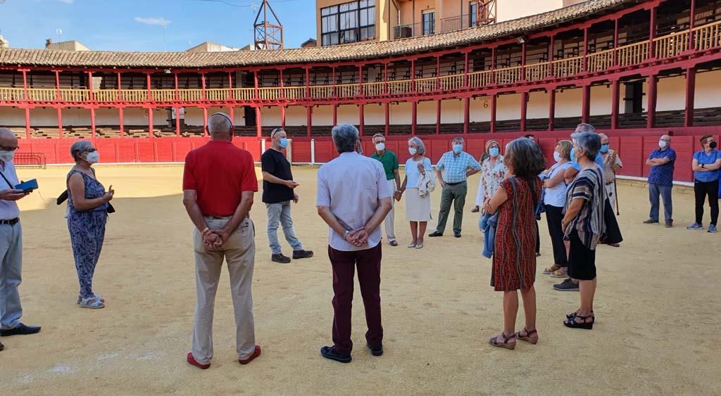 Visita Amigos del Patrimonio a la plaza de toros de Toro (Zamora) - Las Piedras Cantan 2021
