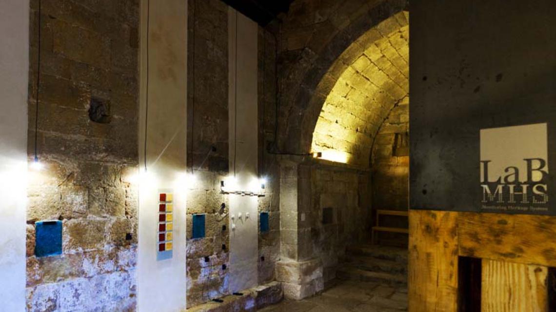 Laboratorio MHSLab en ermita romanica de Canduela