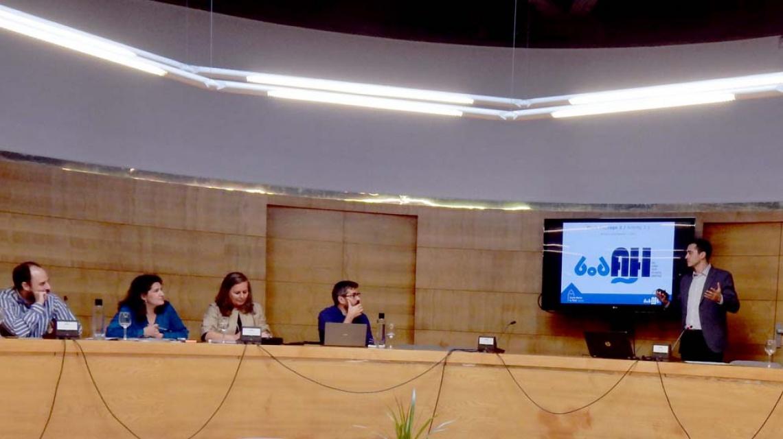 Sesión de arranque del proyecto BODAH en Santiago de Compostela