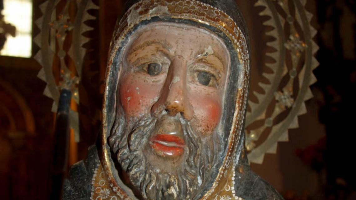 San Antón, Cuelgamures, Zamora Románica
