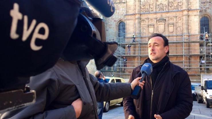TVE en Salamanca, Miguel Villafranca