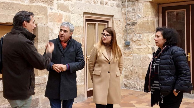 Visita representantes Rota do Românico