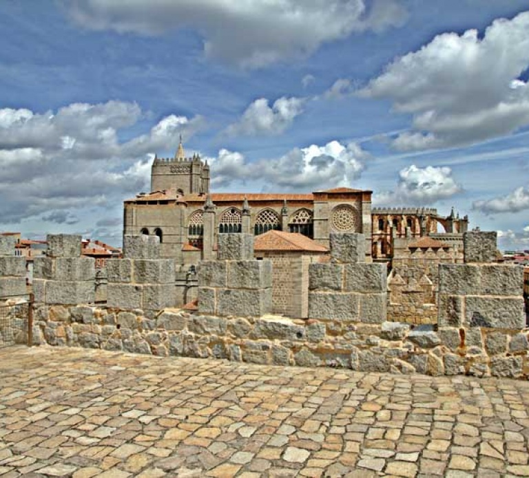 Muralla Ávila, interior, Marce Alonso