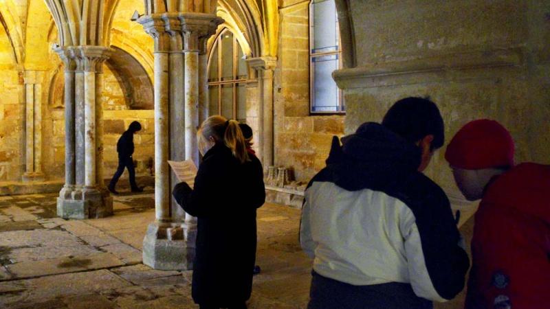Visita al monasterio de Santa María la Real