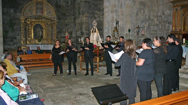 Concierto Grupo de Música Antigua de la Universidad de Valladolid en San Martín de Castañeda