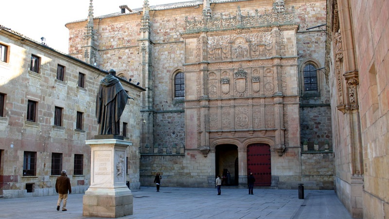 Fachada Universidad de Salamanca