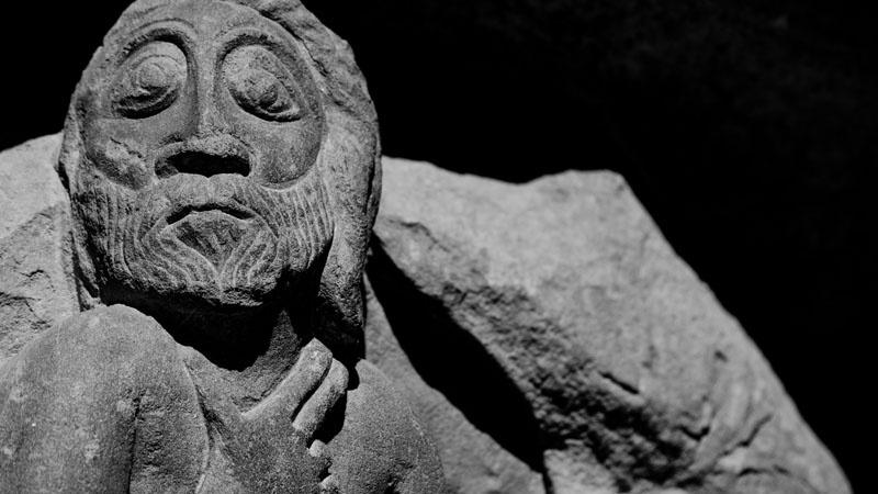 """H3art - Monasterio de San Juan de la Peña (Huesca). Primer Premio IV Concurso Fotografía """"Rómanico Digital"""""""