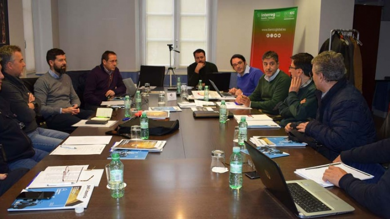 Reunión de los socios del proyecto IBERICC Global en nuestra sede de Valladolid, la Casa Luelmo